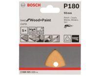 Bosch 2608605153 Schuurvel C470 - Delta - K180 - 93mm (5st)