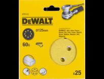 DeWalt DT3112 Schuurschijf - K60 - 125mm (25st) - DT3112-QZ