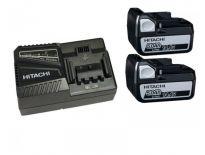 Hitachi 714905 Powerpack 14.4V Li-Ion accu - 5.0Ah (2 x BSL1450 + oplader)