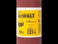 DeWalt DT3581 Schuurpapier rol - P80 - 5m - 115mm - DT3581-QZ