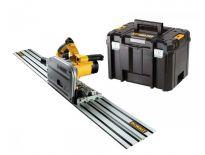 DeWalt DWS520KTR Invalzaag incl. geleiderail in TSTAK - 1300W -165mm - DWS520KTR-QS