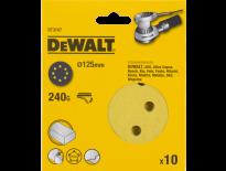 DeWalt DT3107 Schuurschijf - K240 - 125mm (10st) - DT3107-QZ