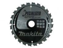 Makita B-09438 Specialized Cirkelzaagblad - 210 x 30 x 24T - Hout / Epoxy / Aluminium / Kunststof