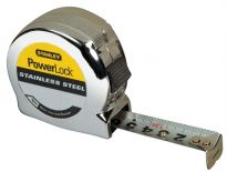 Stanley 0-33-301 Rolmaat Powerlock RVS - 8m