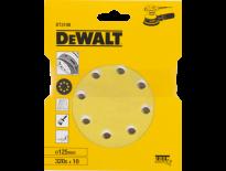 DeWalt DT3108 Schuurschijf - K320 - 125mm (10st) - DT3108-QZ