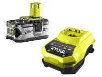 Ryobi RBC18L50 starterset 18V Li-Ion accu 1x 5.0Ah + snellader - 5133002601