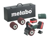 Metabo S 18 LTX 115 Set 18V Li-Ion accu satineermachine set (2 x 4.0Ah accu) in koffer - 600154870