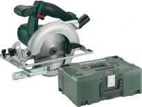 Metabo KSA 18 LTX 18V Li-Ion accu cirkelzaag body in metaloc - 165mm - 602268840