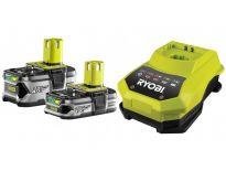 Ryobi RBC18LL415 starterset 18v Li-Ion accu 1x 1.5Ah & 1x 4.0Ah + snellader - 5133002600