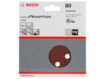Bosch 2608605642 Schuurschijf C430 - K80 - 125mm (5st)
