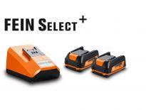 Fein 92604250010 12V Li-Ion accu starterset (2x 2.5Ah accu)