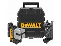 DeWalt DW089K Zelfnivellerende multilijn kruis lijnlaser in koffer - 3 lijnen - DW089K-XJ