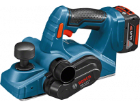 Bosch GHO 14,4 V-Li 14,4V Li-Ion accu schaafmachine set (2x 4.0Ah accu) in L-Boxx - 82mm - 1,6mm - 06015A0402