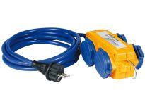 Brennenstuhl 1161750 Verlengsnoer IP44 met Powerblock - AT-N05V3V3-F 3G1,5 - 5m