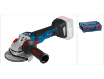 Bosch GWS 18 V-125 SC 18V Li-Ion Accu haakse slijper body in L-Boxx - 125mm - koolborstelloos - bluetooth - 06019G3400