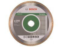 Bosch 2608602537 Standard Diamantdoorslijpschijf - 200 x 25,4 x 1,6mm - keramiek