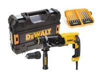 DeWalt D25134KX SDS-plus Combihamer incl. snelspanboorkop & borenset in TSTAK - 800W - 2,8J