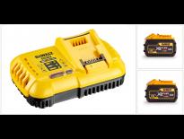 DeWalt DCB118X2 18/54V Li-Ion accu XR Flexvolt Accu starterspakket (2x 9,0Ah accu) - DCB118X2-QW