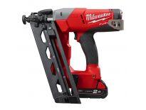 Milwaukee M18 CN16GA-202X 18V Li-Ion accu Tacker set (2x 2,0Ah accu) in HD BOX - 20° - 1,6mm - 32-63mm - 4933451570