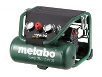 Metabo Power 250-10 W OF Compressor  - 1500W - 10 bar - 10L - 100 l/min - 601544000