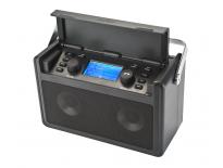 PerfectPro AUDISSE SHIRUDO WiFi Internet accu bouwradio - FM RDS - DAB+ - bluetooth - USB - spotify - netstroom & lithium accu