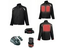 Bosch 061880000G 10,8V Li-Ion accu professional heat jacket full version set (1x 2,0Ah accu) - maat S