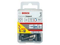 Bosch 2608522063 Diamond Impact bit - T25 - 25mm (10st)