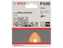 Bosch 2608605151 Schuurvel C470 - Delta - K100 - 93mm (5st)