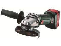 Metabo W 18 LTX 125 QUICK 18V Li-Ion Accu haakse slijper set (2x 4.0Ah accu) in koffer - 125mm
