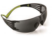 3M SF402 Secure Fit 400 Veiligheidsbril - Polycarbonaat - Grijs - Anti-damp - SF402AFG