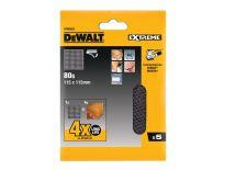 DeWalt DTM3022 mesh 1/4 schuurgaas - K80 - 115x115mm (5st) - DTM3022-QZ