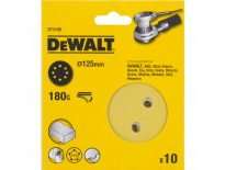 DeWalt DT3106 Schuurschijf - K180 - 125mm (10st) - DT3106-QZ