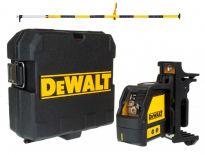 Dewalt DW088KPOL zelfnivellerende kruislijnlaser in koffer (DW088K) & kolom (DE0882) - 15m - DW088KPOL-XJ