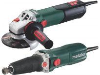 Metabo 690916000 Haakse slijper (WEA 15-125 Quick) & rechte slijper (GE 710) combiset