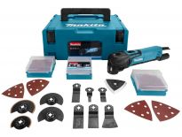 Makita TM3010CX2J multitool set in Mbox + 42 delige accessoireset - 320W