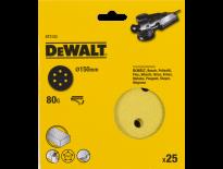 DeWalt DT3133 Schuurschijf - K80 - 150mm (25st) - DT3133-QZ