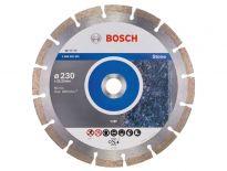 Bosch 2608602601 Standard Diamantdoorslijpschijf - 230 x 22,23 x 2,3mm - steen