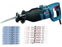 Bosch GSA 1300 PCE reciprozaag in koffer incl. 20 reciprozaagbladen - 1300W - snelwissel - 0615990EC6