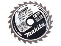 Makita B-21995 Specialized Cirkelzaagblad - 136 x 20 x 24T - Hout / Epoxy / Aluminium / Kunststof