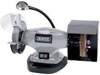 Draper 83421 Dubbele tafelslijpmachine met werklamp - 370W - 150 x 12,7mm