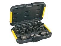 DeWalt DT7506 17 delige doppenset in koffer - DT7506-QZ