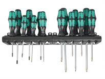 Wera 05105630001 14 delige Kraftform Plus schroevendraaierset - PH/PZ/TX/S