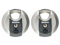 Masterlock RVS Hangslot - 10 x 16 x 21mm (2st)