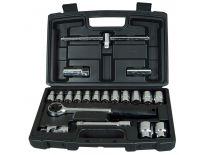 """Stanley 1-94-650 20-delige dopsleutelset 1/2"""" in koffer"""