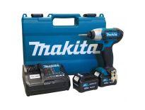 Makita TD110DSME 10.8V Li-Ion accu slagschroevendraaier set (2x 4.0Ah accu) in koffer
