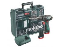 Metabo PowerMaxx SB 10.8V Li-Ion accu klopboor-/schroefmachine set (2x 2.0Ah accu) in koffer incl. accessoire set - 600385870