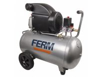 Ferm CRM1046 Compressor - 1500W - 8 bar - 50L