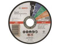 Bosch 2608602383 Doorslijpschijf - Rapido - 125 x 22,23mm - Metaal / Non-ferrometaal / Steen / Kunststof