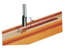 Festool 491093 / HW S12 D20/45 Groeffrees HW schacht 12 mm