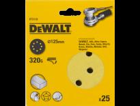 DeWalt DT3118 Schuurschijf - K320 - 125mm (25st) - DT3118-QZ